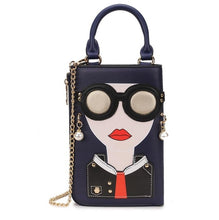 Load image into Gallery viewer, Woman Fashion Pattern Earrings Decorated Female Totes Ladies Shoulder Bag