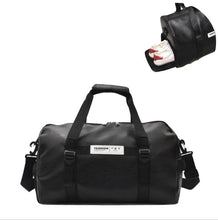 Load image into Gallery viewer, Travel Bag PU Leather Overnight Duffel Bag Large Capacity  Travel Bags Crossbody Handbags