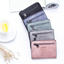 Load image into Gallery viewer, Women'S Wallets Small Mini Safe Money Bag ID Credit Card Holder Coin Purse Solid Carteira Mulheres Wallet Female Coin #120