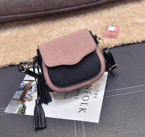 Tassel ornaments woman messenger bag