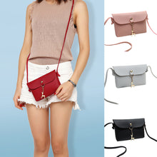Load image into Gallery viewer, Fashion Women Mini Faux Leather Crossbody Shoulder Bag with Cartoon Deer Pendant