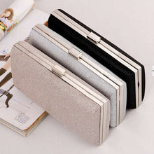Load image into Gallery viewer, Women Evening Clutch Bag Diamond Sequin Clutch Female Crystal Day Clutch Wedding Purse Party