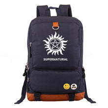 Load image into Gallery viewer, Supernatural Backpack for Women Men Bags
