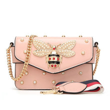 Load image into Gallery viewer, Luxury Handbags Women Bags Designer Vintage Small Little Bee Flap Bag