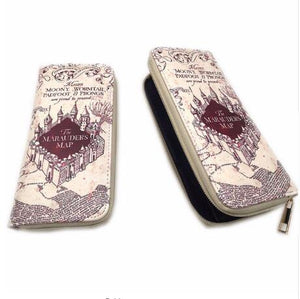 Harry Potter Wallets Men Women Money Bag