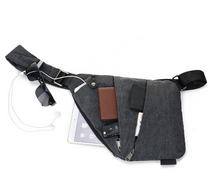 Load image into Gallery viewer, Unisex Anti-Theft Male Chest Bag Men Hidden Shoulder Messenger Bag