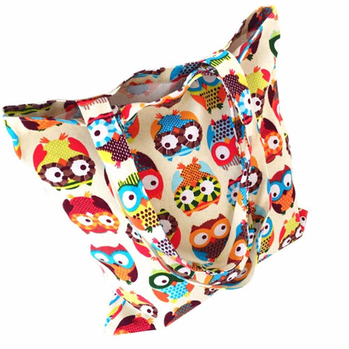 Canvas Tote Casual Beach Bags Large Capacity Foldable Grocery Bags Reusable Eco-friendly Supermarket Shopping Bag Travel Handbag
