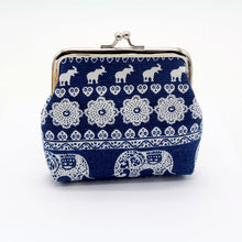 Load image into Gallery viewer, Wallet,toraway Vintage Womens Elephant Wallet Card Holder Coin Purse Clutch Handbag