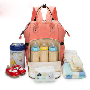 Mummy Maternity Diaper Bag oxford Baby Travel Backpack Baby Stroller  Bottles Storage Nipple Diaper Organizer Nursing Bag