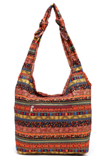 Load image into Gallery viewer, Hippy Boho Style Sling Cross Body Shoulder Messenger Bag Purse Multi Color