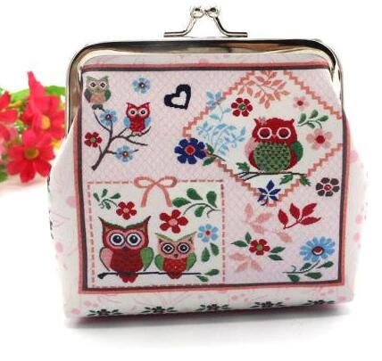 Excellent Woman Coin Purse Printing Lady Purse Leather Small Wallet Card Holders Female Money Change Bag Wallet Clutch Handbag