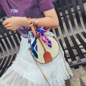 Straw Beach Bag Bolsa Feminina Shoulder Bag Messenger Crossbody Bags for Women Handbag Bags