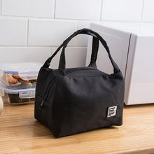 Load image into Gallery viewer, Portable Lunch Bag Thermal Insulated Lunch Box Tote Cooler Bag Bento Pouch Lunch Container School Food Storage Bags