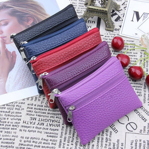 Women Small Wallet Change Purses Mini Zipper Money Bags Children's Pocket Wallets Key Holder carteira