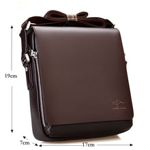 Load image into Gallery viewer, Men Messenger Bags Big Promotion Kangaroo Leather Shoulder Bags Men Handbags Brand Casual Briefcase