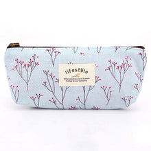 Load image into Gallery viewer, Neceser Necessaire Women Travel Toiletry Pencil Make Up Makeup Case Storage Pouch Cosmetic Bag Purse Organizer