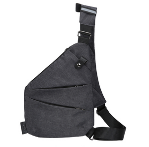 Unisex Anti-Theft Male Chest Bag Men Hidden Shoulder Messenger Bag