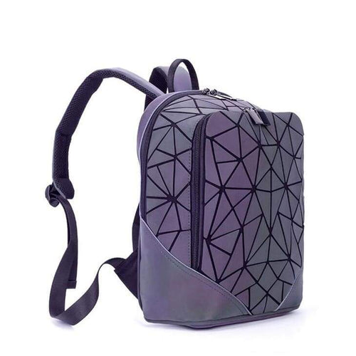 Hype Geometric Prism Luminous Backpack Larger Size ( Fits Standard 11 x 11.5 Binder )
