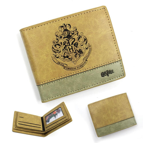Harry Potter Deathly Hallows Short Wallet PU Purse