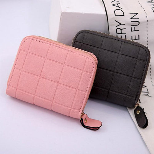 Carteras Women's Purse Card Holder Women Small Wallet Zipper Clutch Coin Purse Female Bag