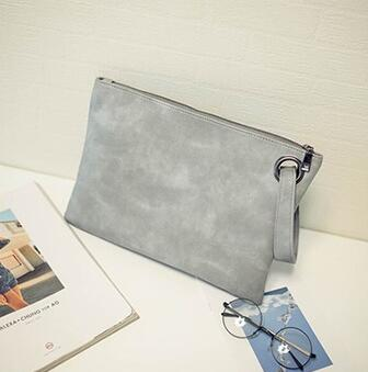 Shoulder bag Fashion Solid Women Bag artificial Leather Women Envelope Bag Female Handbag Clutch Clutch