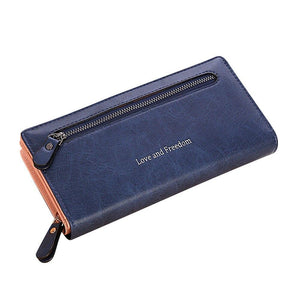 women bags high quality wallet female long wallet fashionable coin purse women purse Carteira feminina