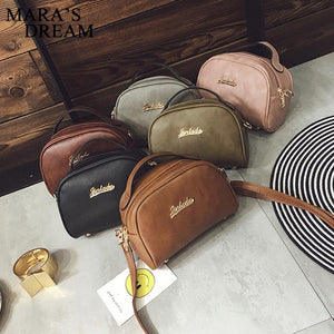 Women Messenger Bag PU Leather Handbags Mini Shoulder Crossbody Bag Casual Girls Clutches Purses Cell Phone Pouch