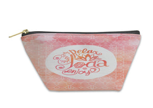 Accessory Pouch, Yoga Illustration
