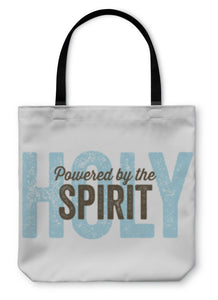 Tote Bag, Vintage Christian Design Spirit