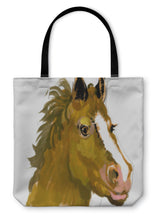 Load image into Gallery viewer, Tote Bag, Horse Head Watercolor Painting