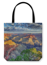 Load image into Gallery viewer, Tote Bag, Morning Light At Grand Canyon