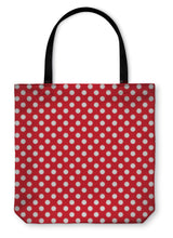 Load image into Gallery viewer, Tote Bag, Polka Dot Pattern