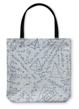 Load image into Gallery viewer, Tote Bag, Maths Pattern