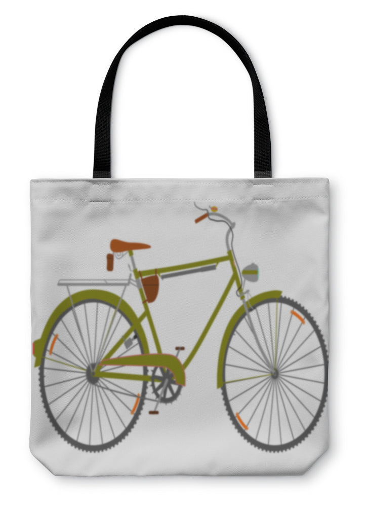 Tote Bag, Touring Bike