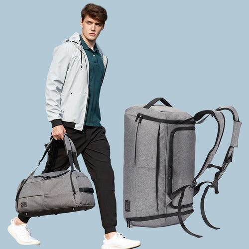 Men Sport Fitness Bag Multifunction Tote Gym Bags For Shoes Storage Outdoor Travel Anti-Theft Backpack