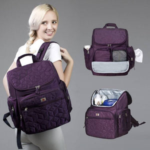 Mummy backpack High-Quality Bolsa Maternidade Baby Diaper Bags Baby Nappy Bags Mummy Maternity Bag Shoulder Backpack
