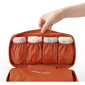 Do Not Miss Bra Underwear Travel Bag Suitcase Organizer Women Cosmetic Bag Luggage Organizer