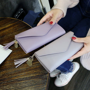 Women Wallets Multifunction PU Leather Women's Long Design Purse Female Card Holder Long Lady Clutch Purse
