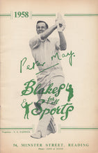 Load image into Gallery viewer, Peter May on the front cover of the 1958 N.E. Blake & Co. Catalogue