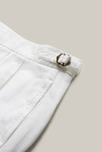 Load image into Gallery viewer, Close up of the N.E. Blake & Co. Len Hutton Cricket Trousers