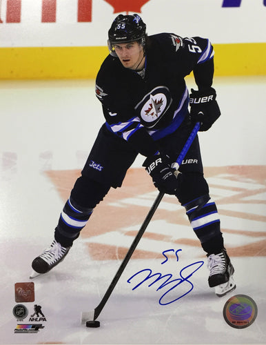 Mark Scheifele Autographed Winnipeg Jets 8x10 Photo