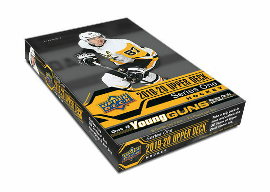 2019-20 Upper Deck Hockey Series 1 Hobby Box
