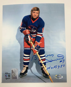 Bobby Hull WHA Autographed Winnipeg Jets 8x10 Photo