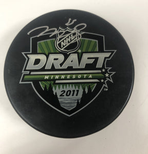 Mark Scheifele Autographed 2011 Draft Puck