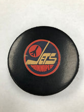 1980s NHL Winnipeg Jets Official Puck