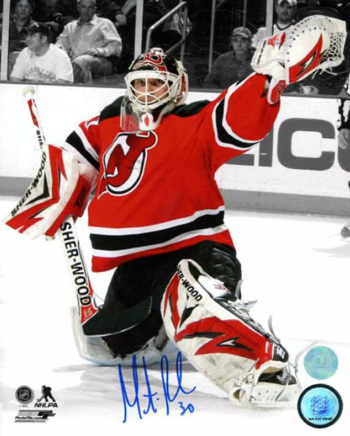 Martin Brodeur New Jersey Devils Autographed 8x10 Photo