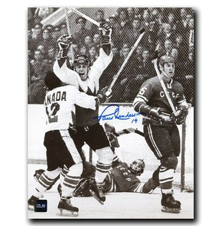 Paul Henderson 1972 Summit Series Team Canada Autographed 8x10 Photo