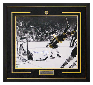 Bobby Orr Autographed 30x34 Framed Photo
