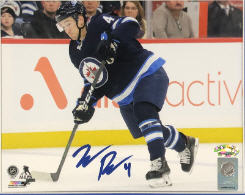 Neal Pionk Autographed Winnipeg Jets 8x10 Photo