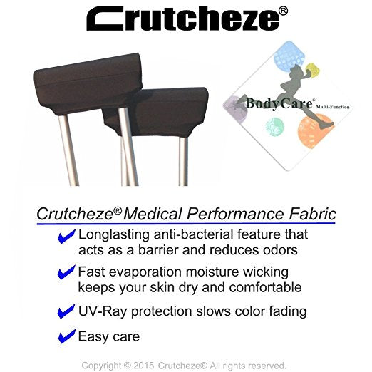 Crutcheze Anti-Bacterial Fabric Bodycare